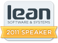 Lean Software Systems Conference 2011 Speaker